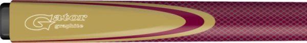 gator maroon graphite cue inlay